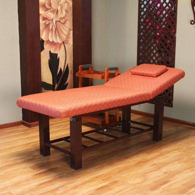 高档美容床批发美容院专用按摩床推拿床家用火疗理疗床纹绣床定制