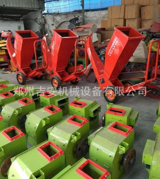 300型最新型园林 果园碎枝机  可配电机 汽油机移动式破碎