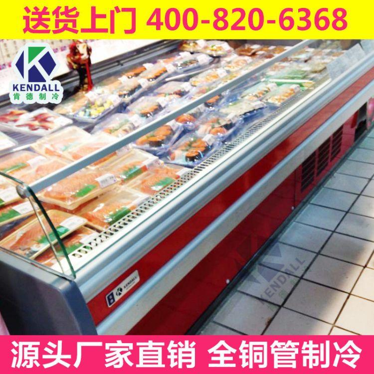 【肯德机电】 冷冻柜厂家批发超市柜 超市岛柜 组合式冷冻岛柜
