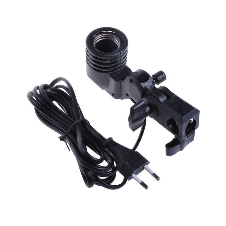 E27万向摄影单灯头 摄影灯 摄影棚 配件摄影器材