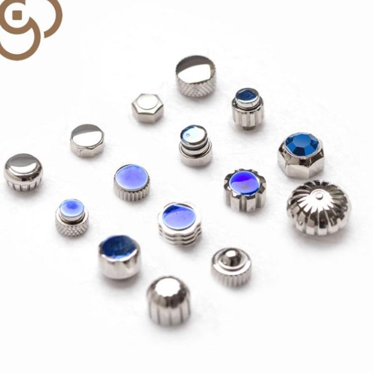 批发钟表配件加工表南瓜厂家订做OEM ODM品牌设计手表配件把头