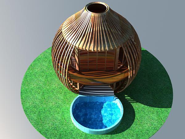 浙江专业设计休闲度假木树屋森林原生态树屋大自然鸟巢独立屋