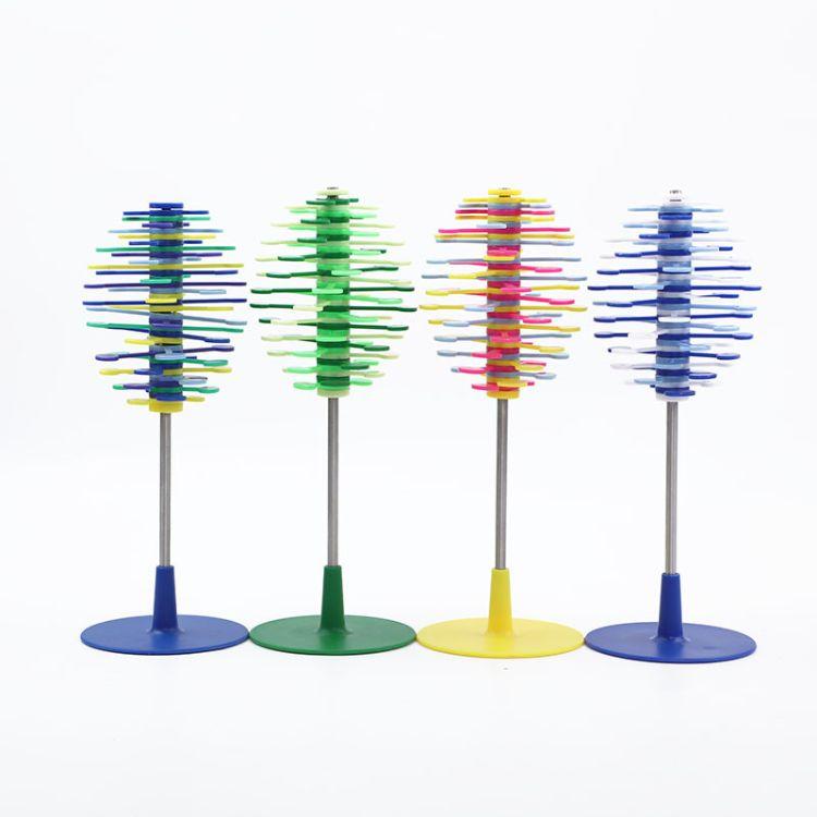 厂家直销费氏数列创意解压旋转棒棒糖 儿童玩具亲子游戏趣味科教