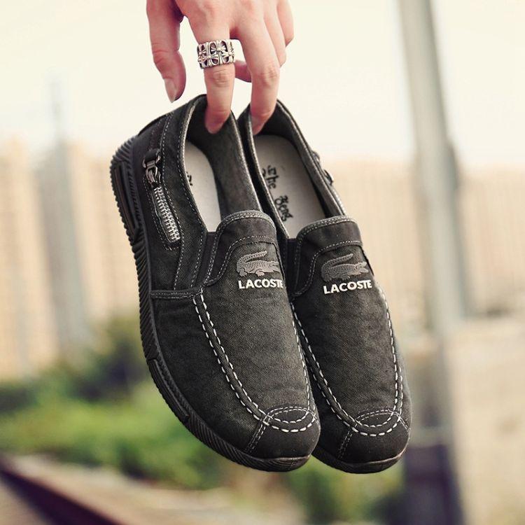 厂家批发新款男士低帮帆布男鞋夏季韩版潮流休闲板鞋单鞋一件代发