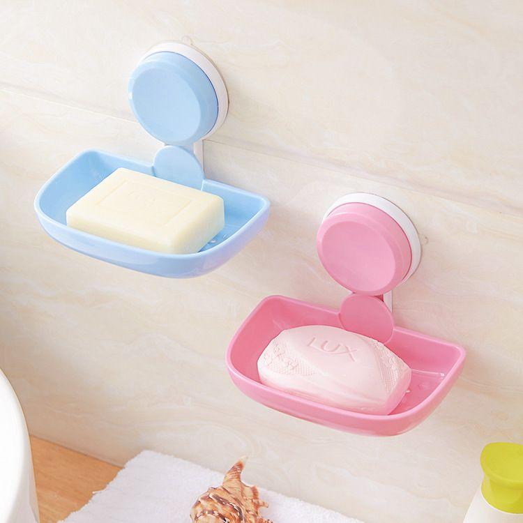 今上塑料肥皂盒批发 创意日用浴室皂托瓷砖壁挂沥水香皂盒肥皂架