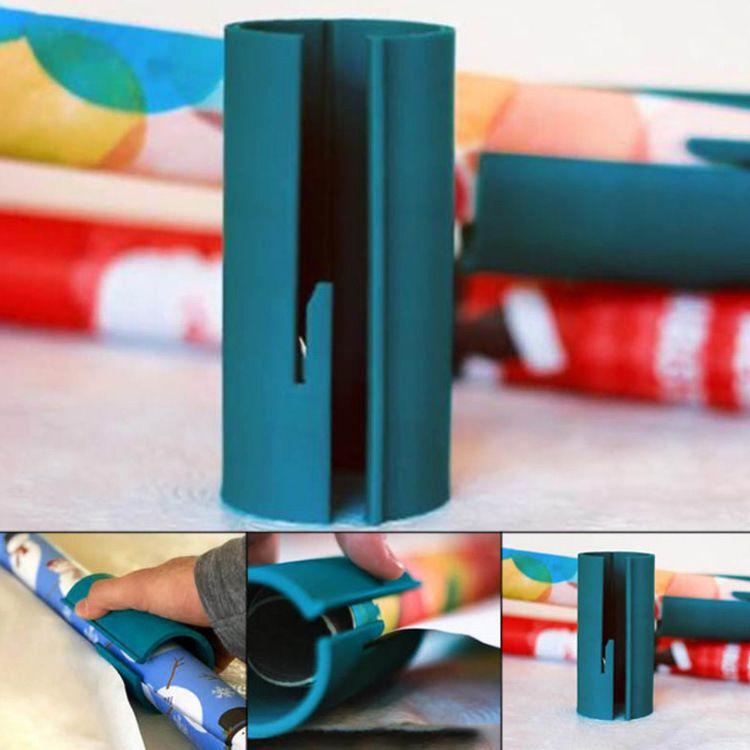Christmas wrapping paper圣诞节切纸刀礼品包装迷你圆形割纸机