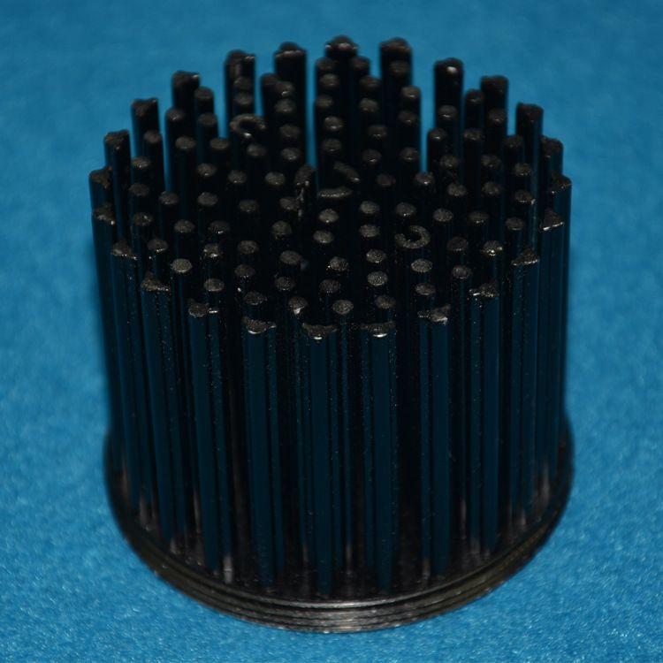 厂家直销 冷锻散热器 散热器大功率LED ¢72天花灯散热器 灯套件