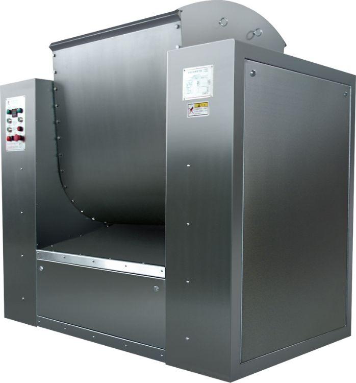 全自动饼干生产线 250L型单桨卧式和面机-PLC智能 饼干生产设备