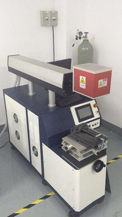转让8成新二手激光振镜焊自动焊接激光点焊设备200W