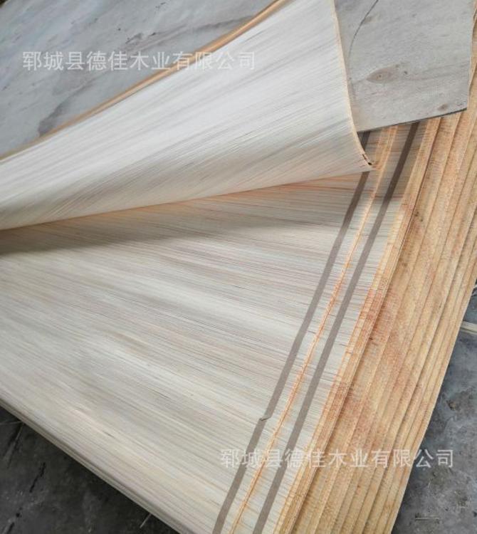 厂家直销 生产批发科技木皮 木皮定做批发杨木板材