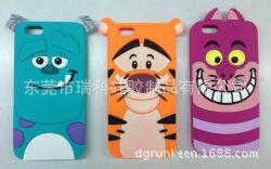 苹果 三星 毛怪 跳跳虎 紫猫 硅胶手机套 手机壳 手机护套