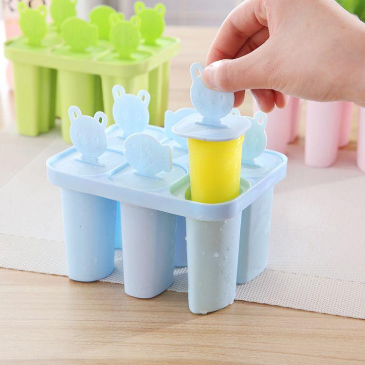 2017夏日DIY五角星雪糕模具冰棒模 冰棍 冰模 冰格 雪条模 制冰盒