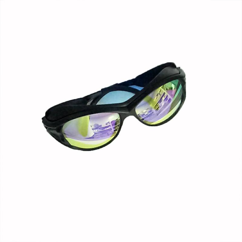 激光眼镜 防护镜 护目镜 反红光650nm 工厂直销 黑色
