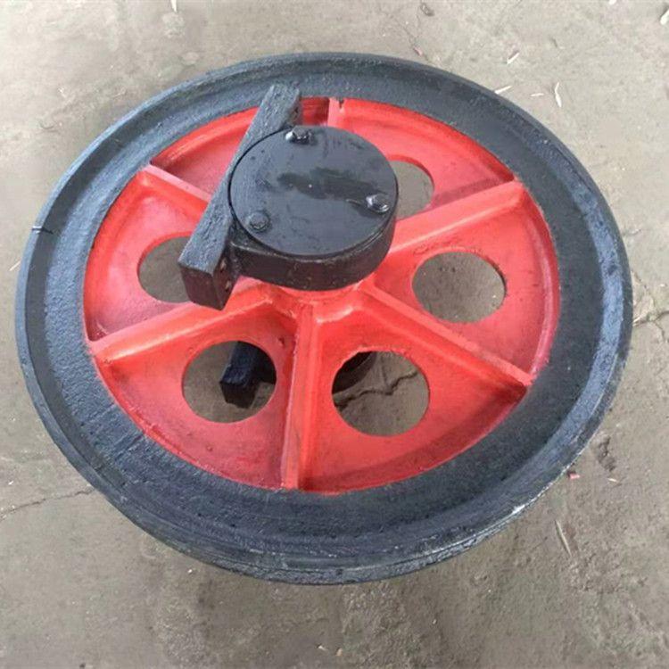 厂家定制加工铸钢 大天轮 游动天轮 固定天轮 提升天轮 规格齐全