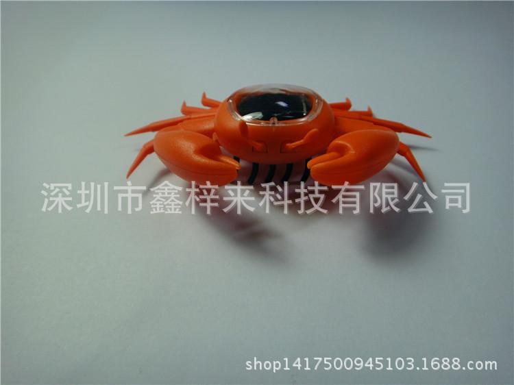 厂家生产直销专利科教爬行玩具太阳能螃蟹