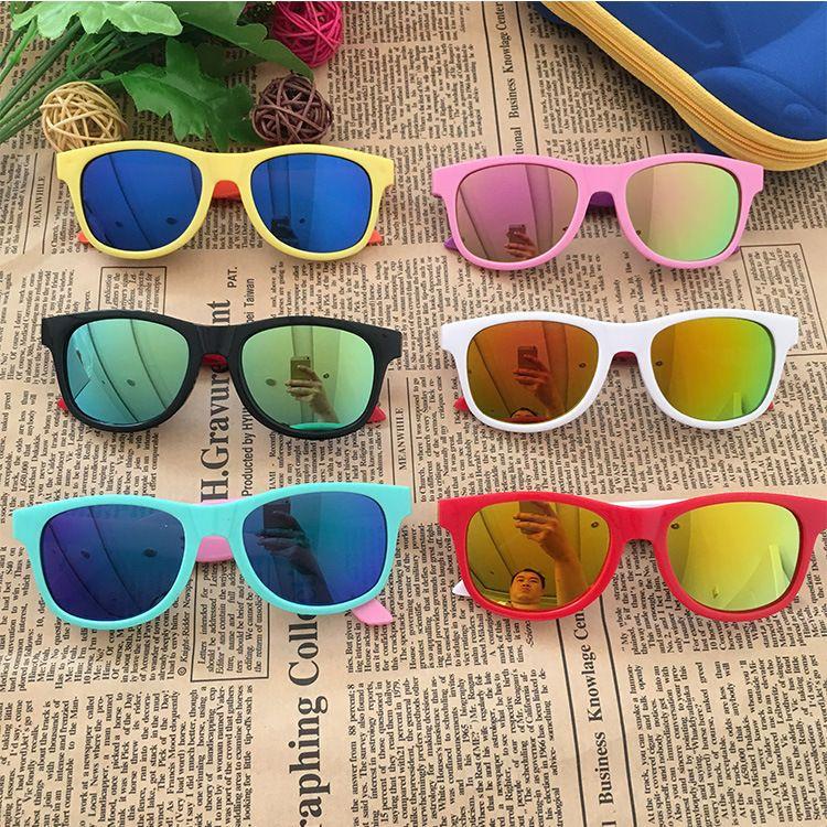 1378经典时尚炫彩儿童太阳眼镜米老鼠印花防紫外线墨镜厂家直销