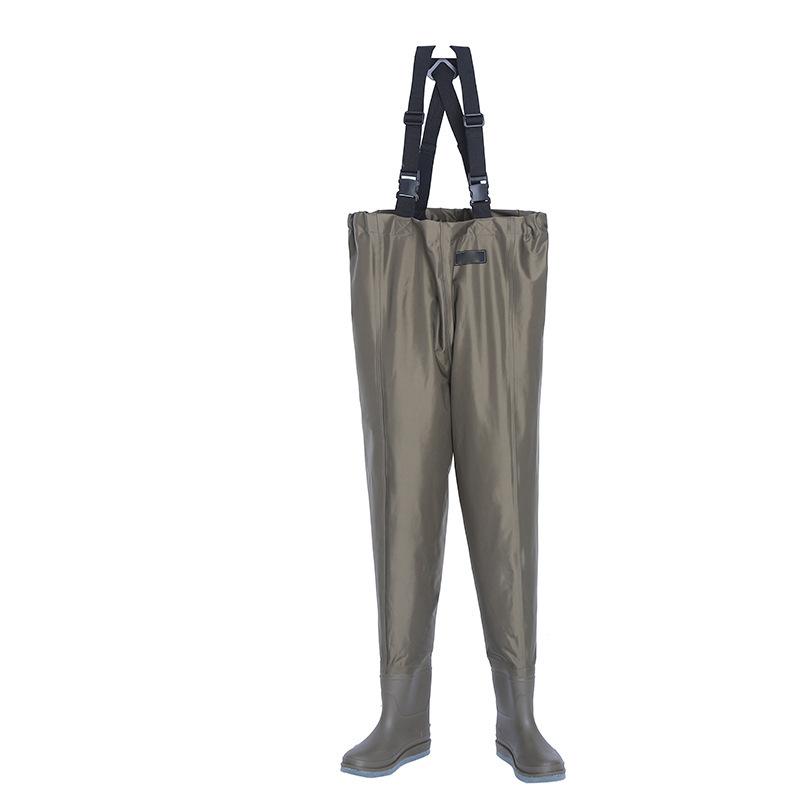 路亚飞蝇钓鱼裤下水裤速干透气夏季透气防水轻薄出口日本溪涉水裤