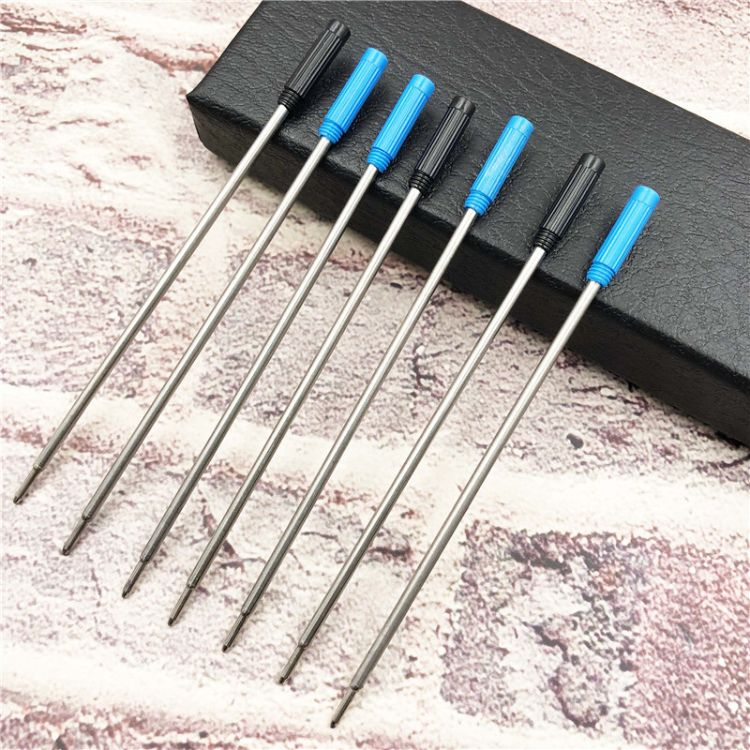 热卖高士笔芯 金属笔芯 圆珠笔芯 11.6CM规格 替换芯 厂家直销