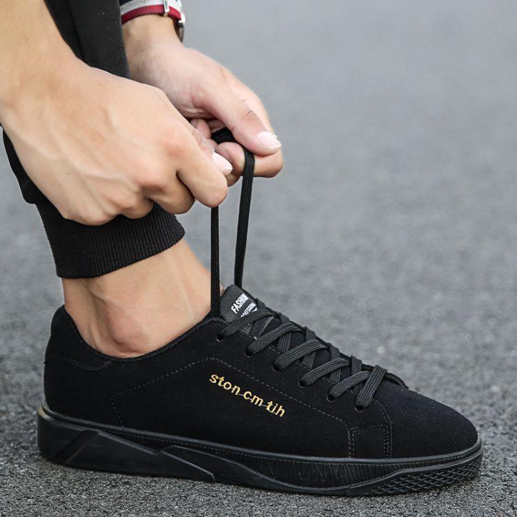 2017秋冬季新款板鞋男韩版潮鞋男士休闲鞋百搭学生鞋一件批发