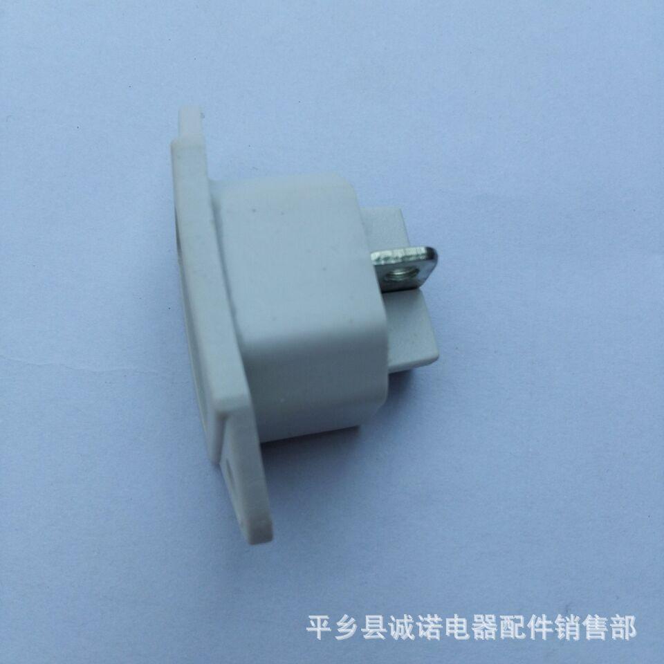 厂家直销  电饭锅插座系列  三孔插座  诚诺电器配件厂
