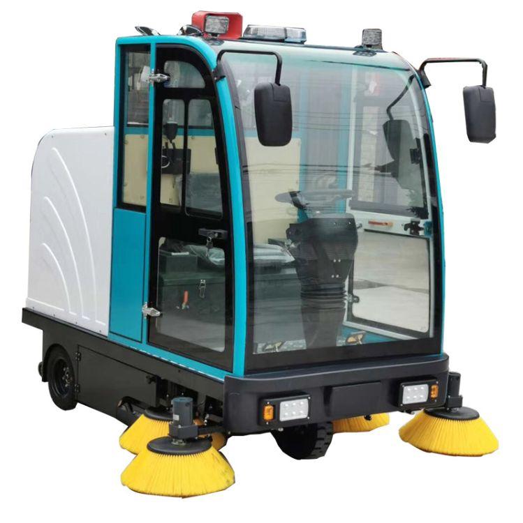 杉东新能源H5驾驶式扫地车医院车间工厂专用街道马路驾驶式拖地车