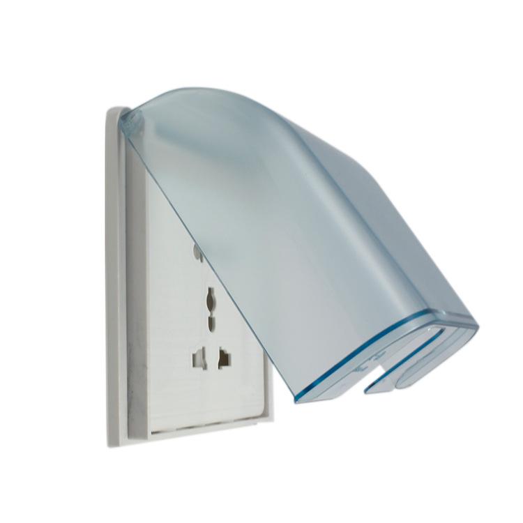 86型防溅盒 浴室卫生间插座防水盒 86型防水罩开关保护盖板