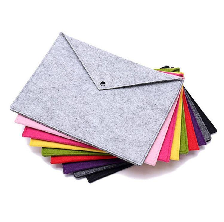 厂家定做直销 会议文件包 a4 a5 毛毡文件袋 赠送礼品包 可加logo