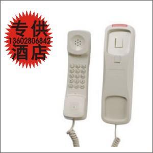 健浩kinhao KT62酒店电话机浴室沐足壁挂钟房足浴报钟挂墙电话机