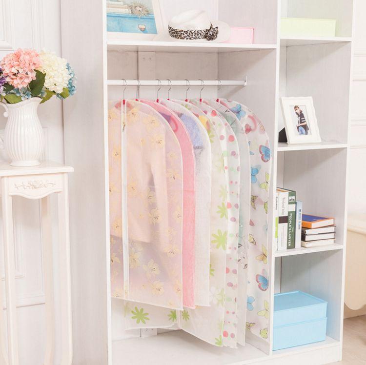 防尘罩可水洗衣服罩透明西服防尘套可水洗挂衣袋子大衣套罩批发