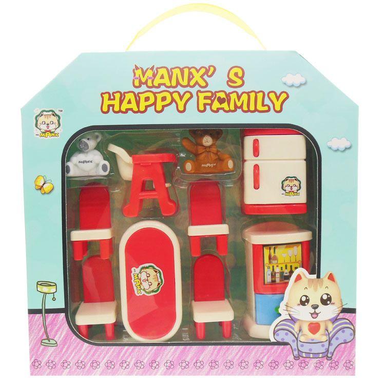 小熊美味餐厅家具场景套装男孩女孩过家家早教益智玩具生日赠礼物