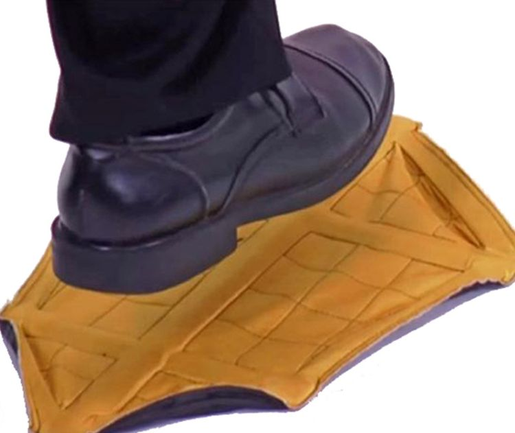 Step In Sock Hands Free Shoe Covers 重复使用懒人快速自动鞋套