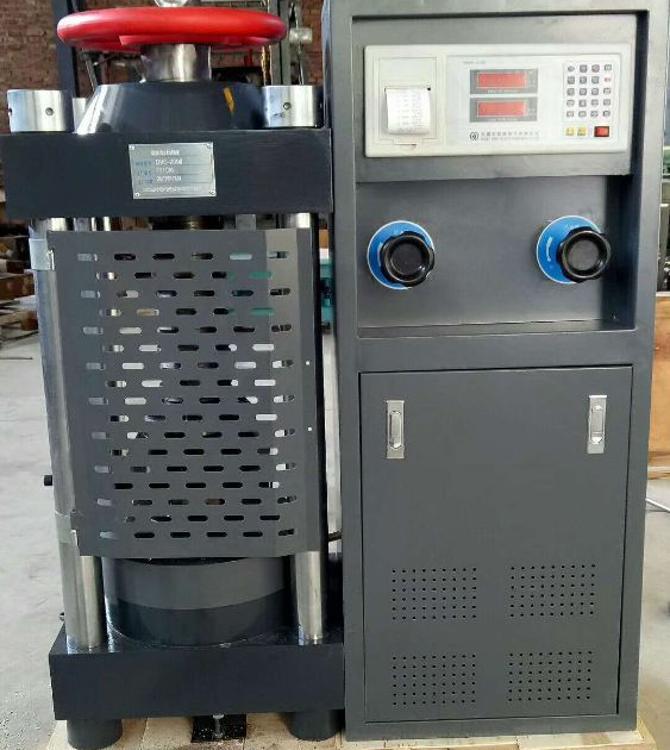 全自动混凝土压力试验机200T抗折抗压试验机混凝土试块压力机