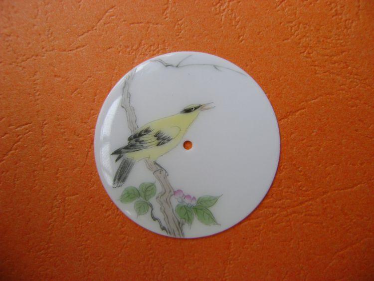 新款上市陶瓷手绘表盘 景德镇陶瓷表盘 薄胎瓷表盘 陶瓷手表表盘