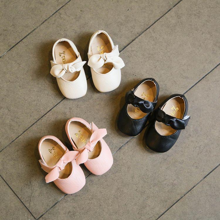 春秋女童鞋宝宝鞋单鞋小皮鞋公主鞋牛筋软底儿童鞋休闲鞋小女孩鞋