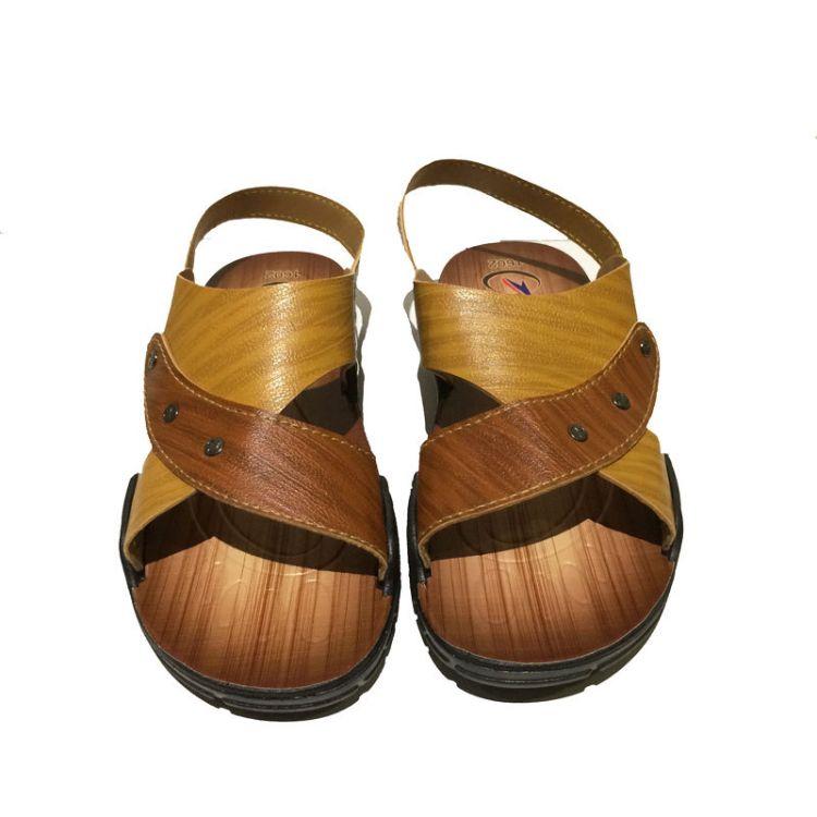 2019新款外贸夏季男士凉鞋流行 夏天中青年休闲男凉鞋沙滩凉拖鞋