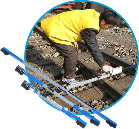 兴瑞阳铁路多功能轨距尺1435水平道尺机械式支距尺俄式轨距尺厂家
