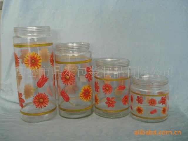 厂家直发 供应山东潍坊品质优良物廉价美玻璃罐 批发零售
