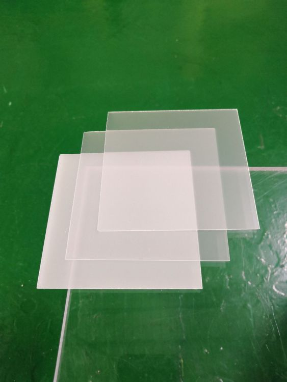 加工定制单砂扩散板 亚克力细砂塑料光学板材 订做透光率50-95%