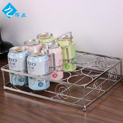 厂家直销 厨房沥水杯架 金属简约杯子架缕空置物架置地式厨房用品