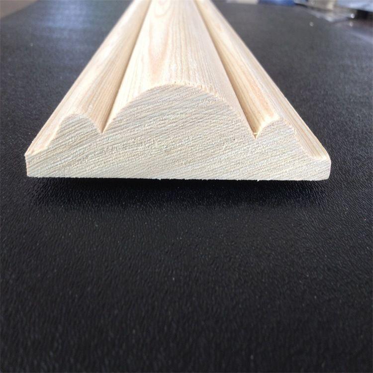 科技人造木线条 水曲柳室内优质木材装饰线条 厂家直销 可定做