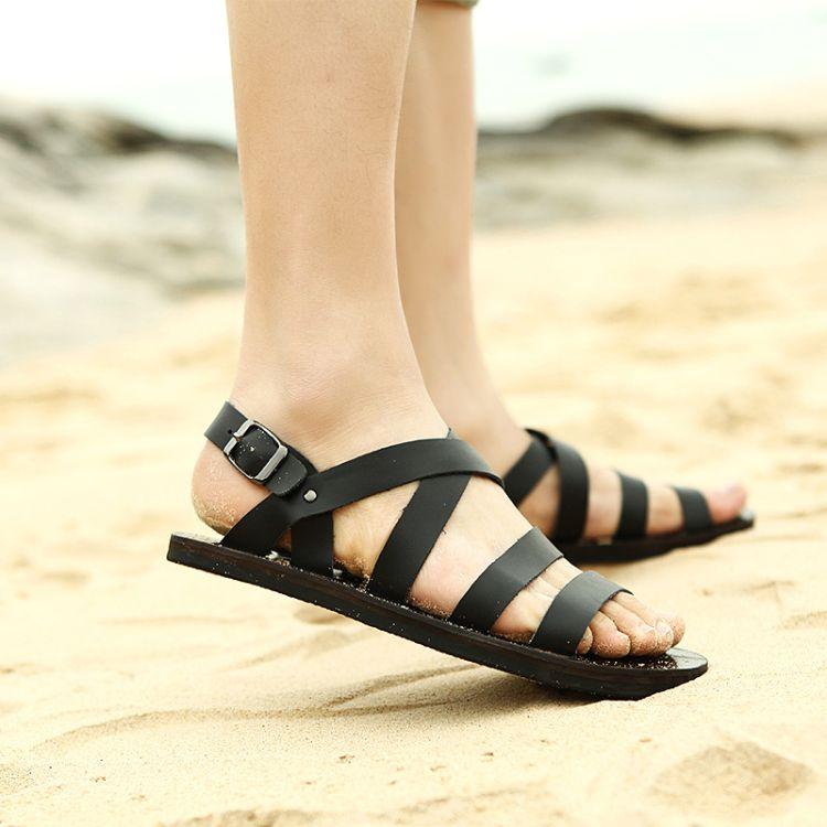 厂家直销夏季凉鞋时尚休闲沙滩鞋男士百搭凉鞋批发906-m1