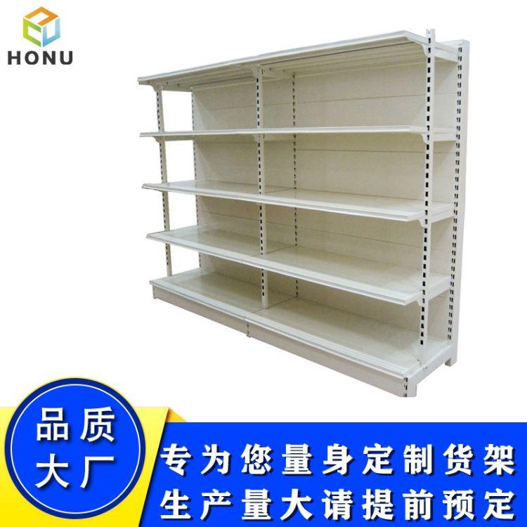 供应定制超市货架 米油粮食货架展示架