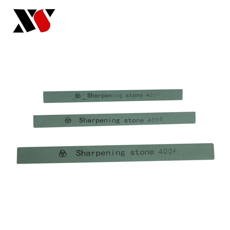 定制60#-2000#三角油石条 磨刀石绿碳化硅绿色三角油石条