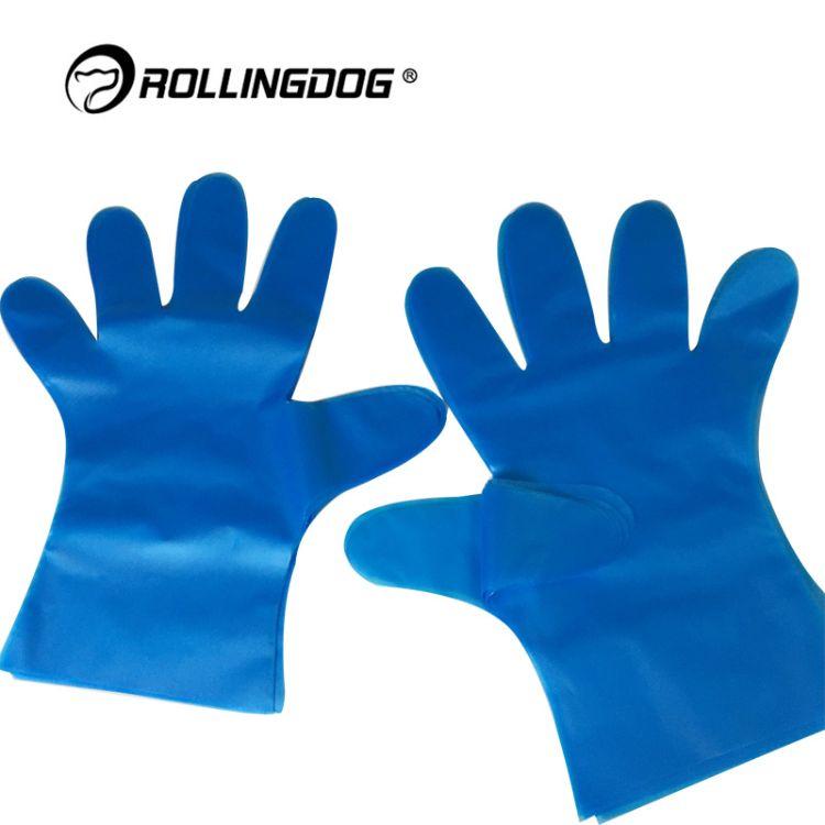 ROLLINGDOG滚动狗防护手套出口20只盒装80243系列一次性手套