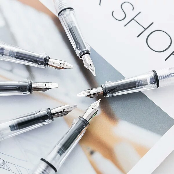 永生平行笔美术美工钢笔鸭嘴笔特殊字体英文书法哥特艺术字体钢笔