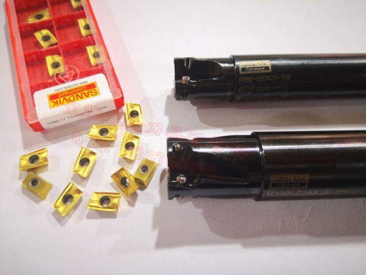 原装正品数控铣刀片 面铣刀片 方肩铣刀片 R390-11T304M-PM 1025