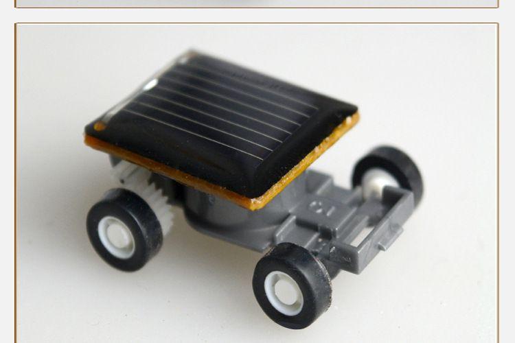 太阳能小汽车迷你太阳能玩具益智玩具环保新奇特创意玩具