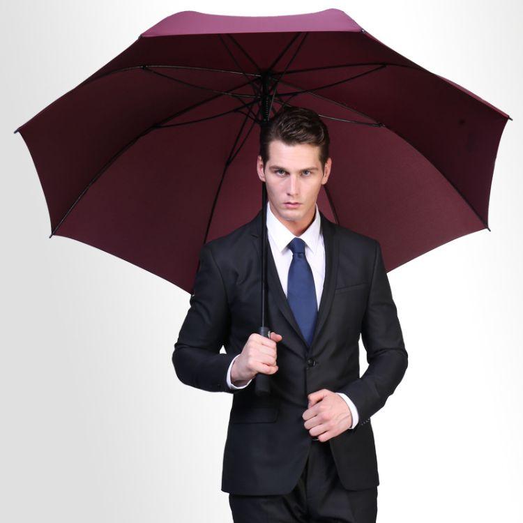 外贸雨伞批发厂家定做定制礼品广告伞直杆长柄高尔夫伞印LOGO定制
