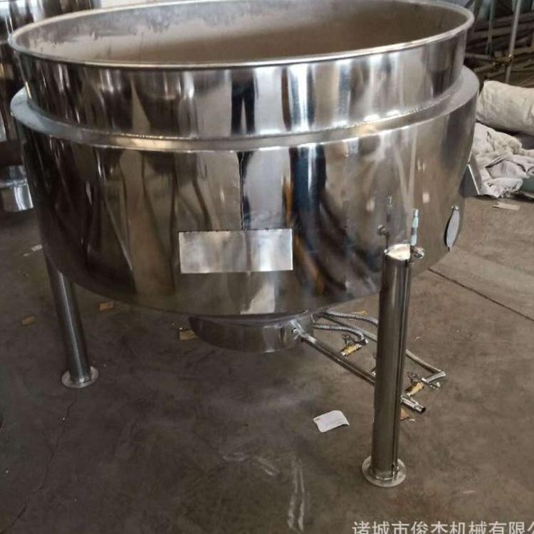 麻辣烫汤煮锅 保温过桥米线煮制燃气夹层锅 烧鸡烧肉卤煮锅