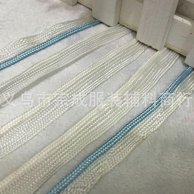白色子母带 家纺枕芯包边带 滚边装饰带厂家 有现货 品质保证